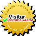 Verificado y aprobado para recibir el sello de calidad por el equipo de Visitar.