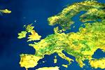 Ubicación del continente Europeo