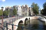 Canal en Ámsterdam