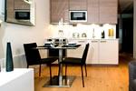 Cocina en los Apartamentos Imperial Wharf