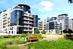 Los jardines de Imperial Wharf