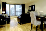 Salón de los apartamentos Imperial Wharf
