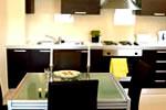 Cocina en los Apartamentos Kilburn
