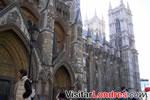 La entrada principal de la Abadía de Westminster