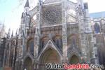 En frente de de la Abadía de Westminster