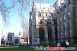Un lado de la Abadía de Westminster