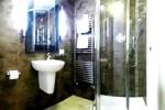 Los baños del hotel Arosfa
