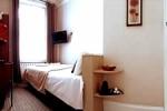 Habitación luminosa en el hotel Arosfa
