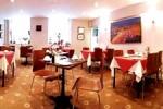 Sala de comida en el hotel Arosfa