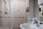 Baño típico en unas de las habitaciones