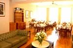 Sala de desayunos en el Euro Hotel Cartwright Gardens