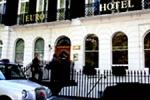 La entrada del Euro Hotel Cartwright Gardens