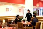 Cafeteria en el Ibis hotel Euston