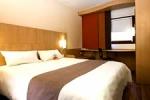 Cama en el Ibis hotel Euston