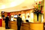 Recepción del Ibis hotel Euston.