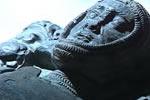 Losas de los caballeros templarios en la iglesia de Temple Church