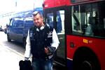 Al pie del autobús número 91