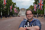 The Mall frente al Buckingham Palace