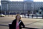 En frente del Buckingham Palace