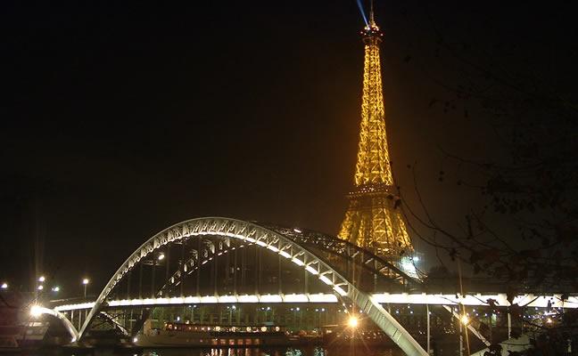 La famosa Torre Eiffel